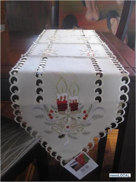 Caminos de mesas navide os paperblog for Caminos de mesa modernos