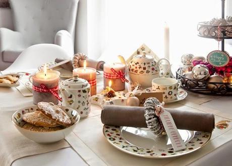 Inspiraci n c mo decorar tu casa y tu mesa en navidad for Como decorar una mesa
