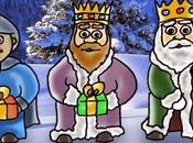 Carta para Reyes Magos pequeño Nicolas