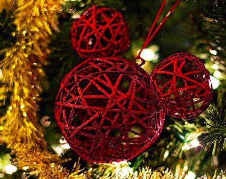 Adorno de Navidad de Mickey Mouse para decorar el árbol - Paperblog