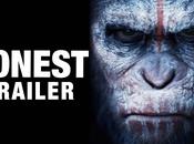 Humor: Trailer Honesto Dawn Planet Apes