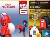 """CONCURSO: apetece asistir preestreno """"Big Hero diciembre Madrid?"""
