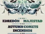 Fosbury Festival: Atención Tsunami, Edredón, Autumn Comets, Majestad...
