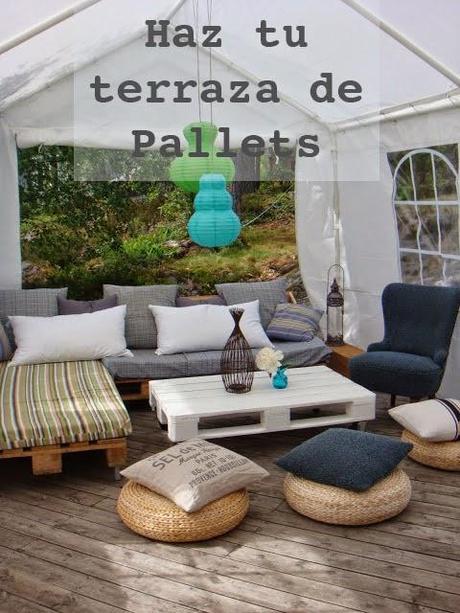 Pallets arma tu terraza de forma econ mica paperblog - Como calentar un piso de forma economica ...