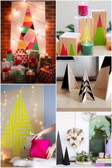 Geometric Christmas tree inspiration