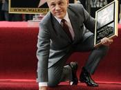 Christoph Waltz recibe estrella Paseo Fama