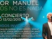 Víctor Manuel celebrará años música rodeado amigos Madrid