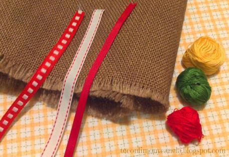 Saco de arpillera navide o fiesta diogenera paperblog - Saco arpillera ...
