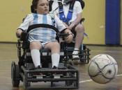 """Valentino Zegarelli, """"Messi"""" silla ruedas"""