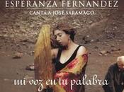 José Saramago recitará Lope Vega Esperanza Fernández.