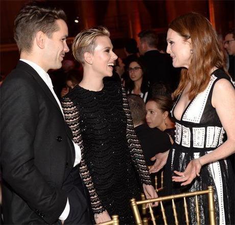 Scarlett Johansson look Slade Shave