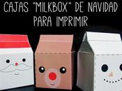 """Cajas """"milkbox"""" navideñas para imprimir cumpleblog"""