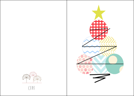 Tarjetas de navidad imprimibles GRATIS - Paperblog