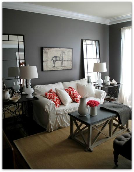 Cuarto de estar peque o haz lo contrario a la decoraci n - Decoracion cuarto de estar ...