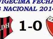 Douglas Haig:1 Colón:0 (Fecha 19°)