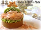 Crema Marisco Aneto Gelificada Quisquilla Marinada, Aguacate, Frutos Secos Salsa Cocktail.