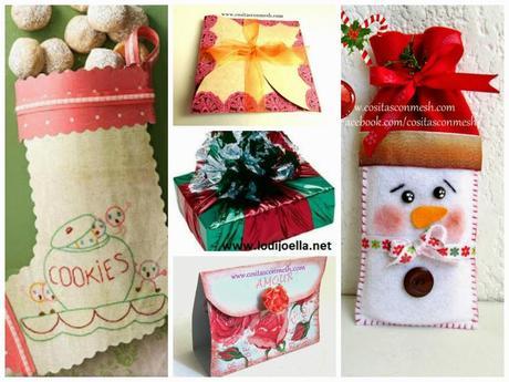 Envoltorios para regalos navide os manualidades paperblog - Envoltorios para regalos ...