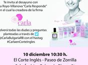 Carla Responde Corte Inglés Valladolid