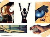 Entrenamiento cuerpo completo menos veinte minutos utilizando Tabata