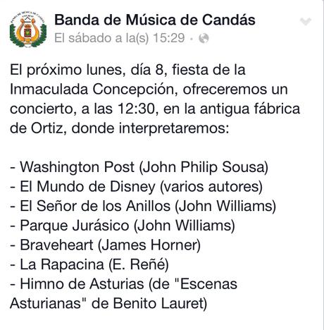 Candás, la Banda de Música y mucho más