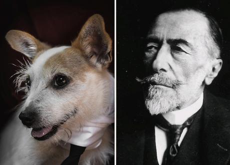 Joseph Conrad y su perro imitador