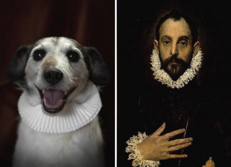 Cervantes y su doble canino