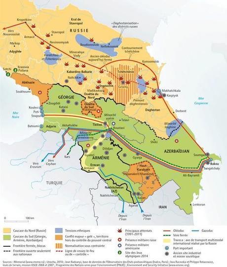 Situación en el Cáucaso