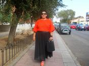 Look Crop maxi skirt