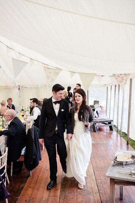 vestidos de novia con chaqueta de cuero – vestidos de noche