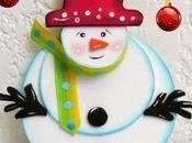 Manualidades navideñas muñecos nieve