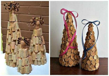 Decoraci n de navidad con corchos paperblog for Decoracion con corchos