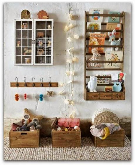 Ideas para guardar los libros de los ni os reciclando - Decorar reciclando objetos ...