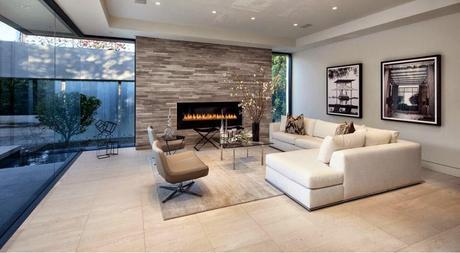 Dise os de salas o living room para casas modernas paperblog for Disenos de salas modernas 2016
