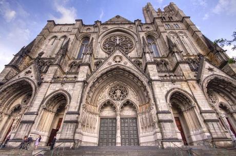 Catedral de St. John the Divine Nueva York Año Nuevo