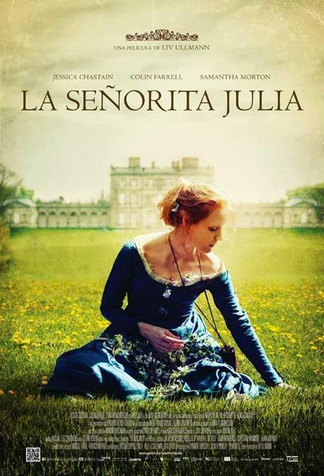 La señorita Julia. Teatro filmado.