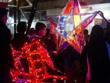 estrella navideña cinco puntas originaria Filipinas