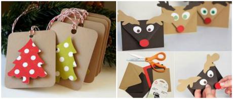 Especial navidad ideas para envolver regalos etiquetas - Ideas originales para navidad ...