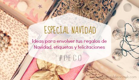 Especial navidad ideas para envolver regalos etiquetas - Ideas para envolver regalos navidenos ...