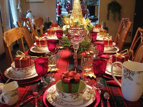 Como decorar la mesa de navidad fotos ilustrativas - Mesa navidena ...