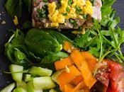 Tartar atún hortalizas