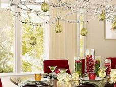 Cómo decorar mesa Navidad mucho encanto...
