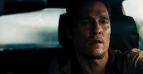 Matthew McConaughey llorando en Interestellar