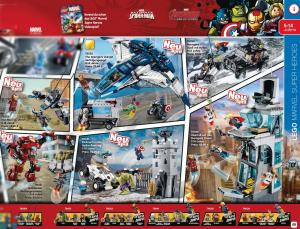 Sets LEGO de Vengadores: La Era de Ultrón