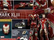 """Impresionante vistazo detallado armadura mark xliii iron """"los vengadores: ultrón"""""""