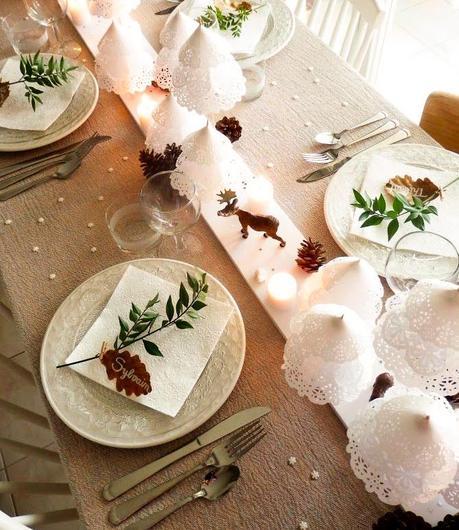 Como decorar una mesa de navidad acertados consejos - Como decorar de navidad ...
