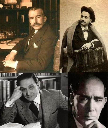 Teatro de la Genreación del 27: Pedro Muñoz Seca, Miguel Mihura Alvarez, Jardiel Poncela y Alejandro Casona
