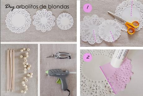 MESA DE NAVIDAD CON BLONDAS + DIY SMALL & LOWCOST