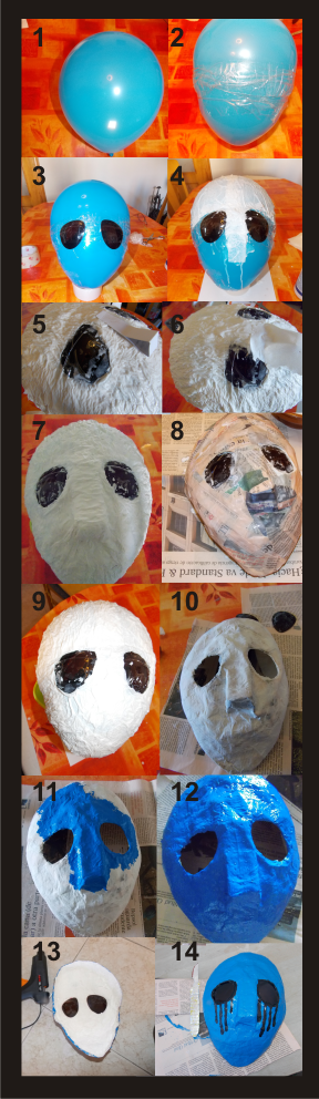 Como hacer una mascara paperblog - Como hacer una mascara ...