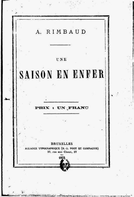 Una Temporada En El Infierno, De Arthur Rimbaud