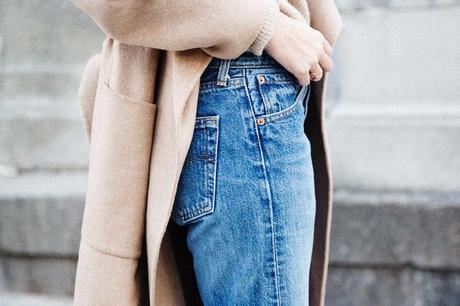 Maxi_Coat-Reformation_Sweater-Vintage_Levis-Outfit-Street_Style-Collage_Vintage-61Karen_Millen-Chrismas_Wishlist-Collage_Vintage-Leather_Skirt-Burgundy_Bag-Silver_Blazer-Outfit-Street_Style-